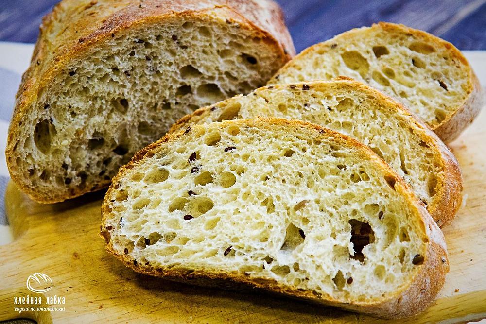 Хороший хлеб не крошится!