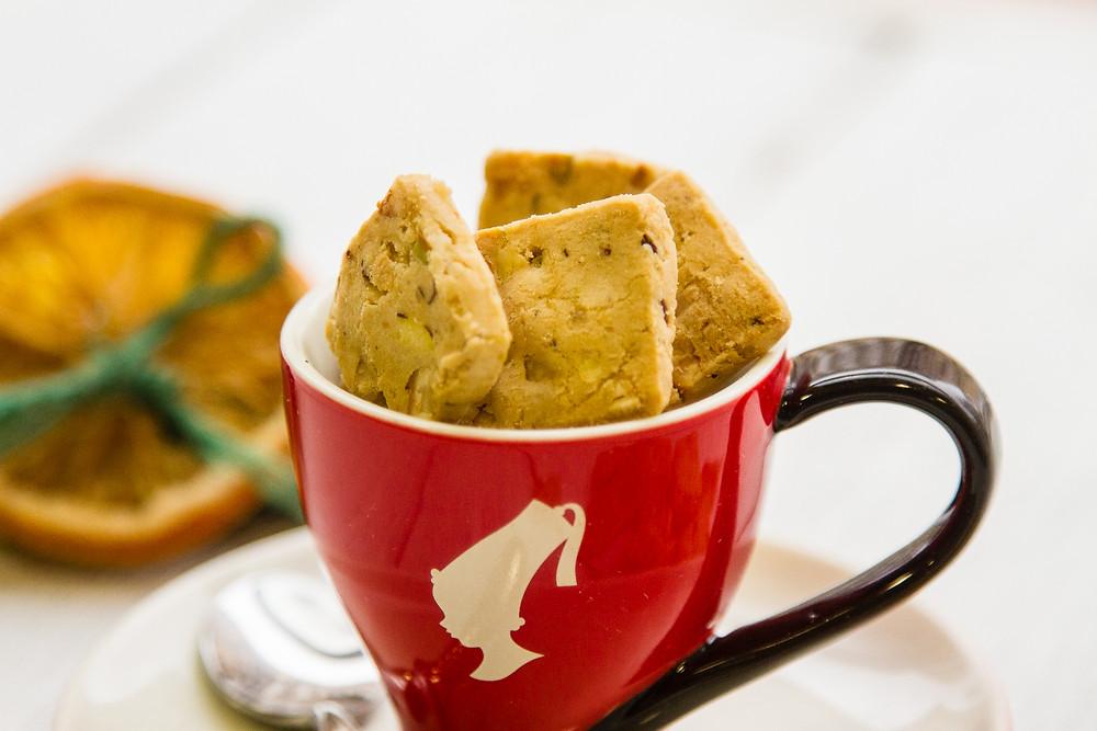 Наше особое печенье - Ореховый ломтик с фисташками