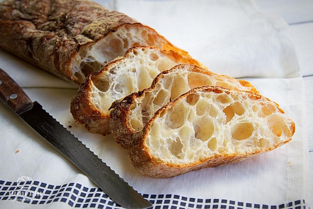 Хлеб недели – Итальянская чиабатта