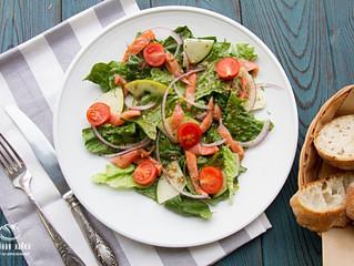 Традиции вкуса - Норвежский салат с лососем