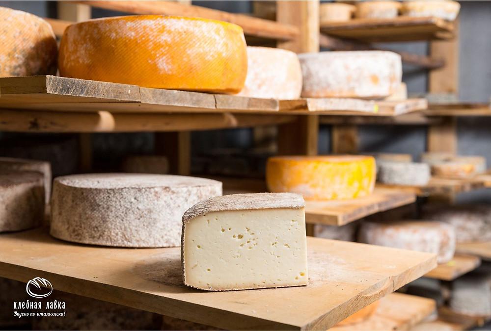 Сыр – от древности до массового производства