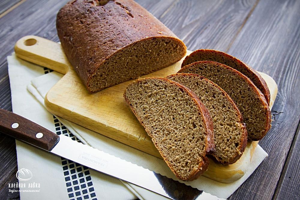 Представляем Вам новый хлеб, сделанный нами по ГОСТу 1939 года – Рижский хлеб из ржаной муки на закваске, без добавления коммерческих дрожжей.