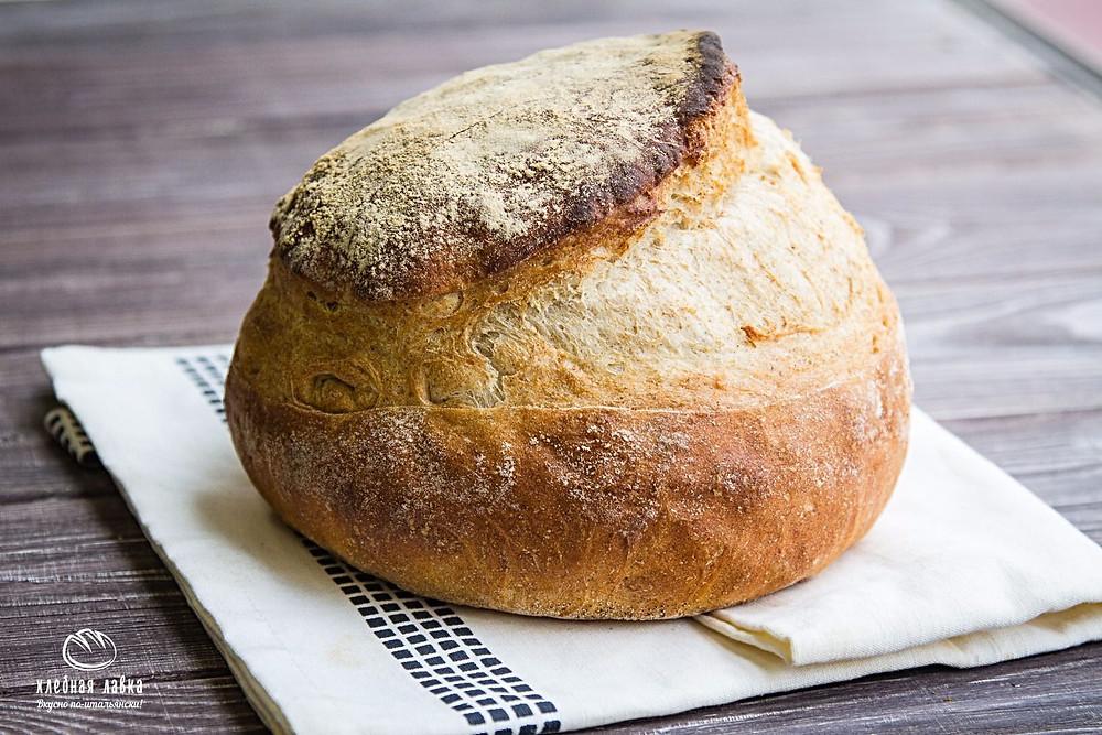 Хлеб недели - Хлеб по-деревенски