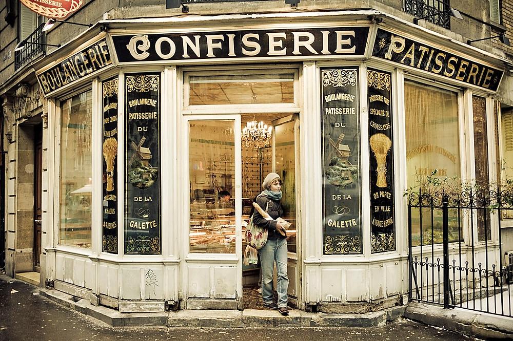Буланжери-кафе в Париже