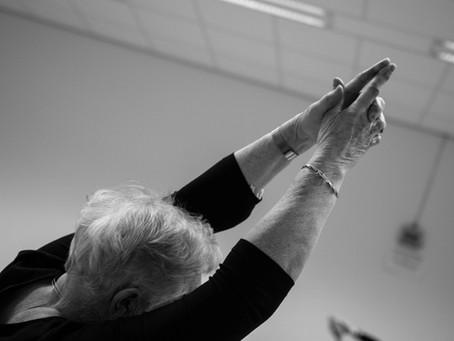 Nieuw seizoen moderne dans voor senioren