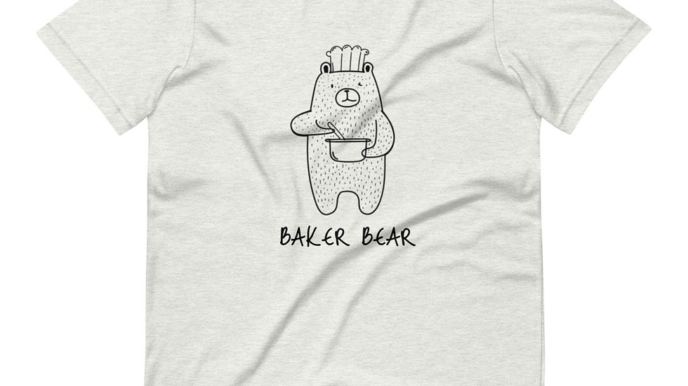 Baker Bear Short-Sleeve Unisex T-Shirt