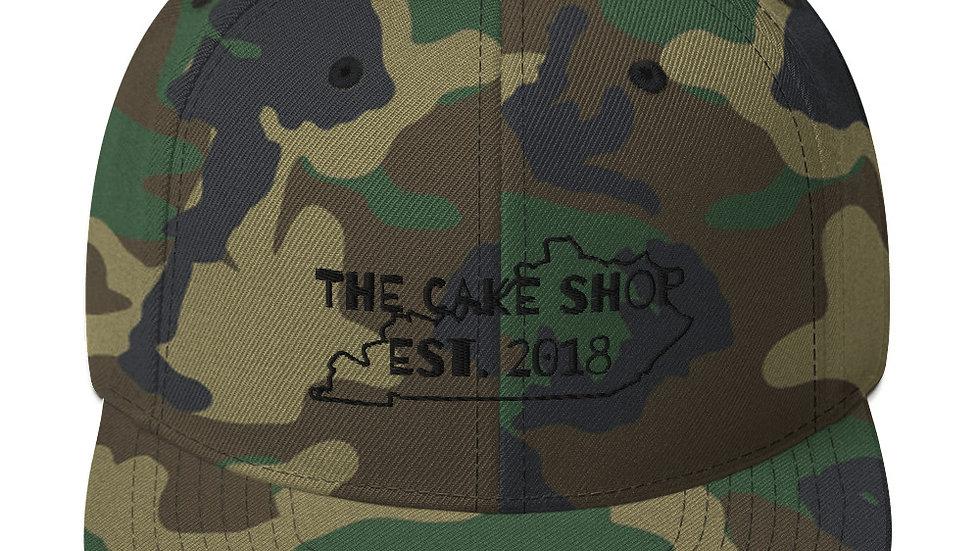TCS Camo Snapback Hat