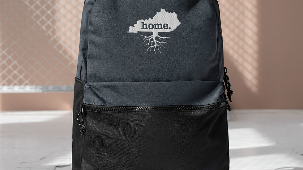 KY Home Embroidered Champion Backpack