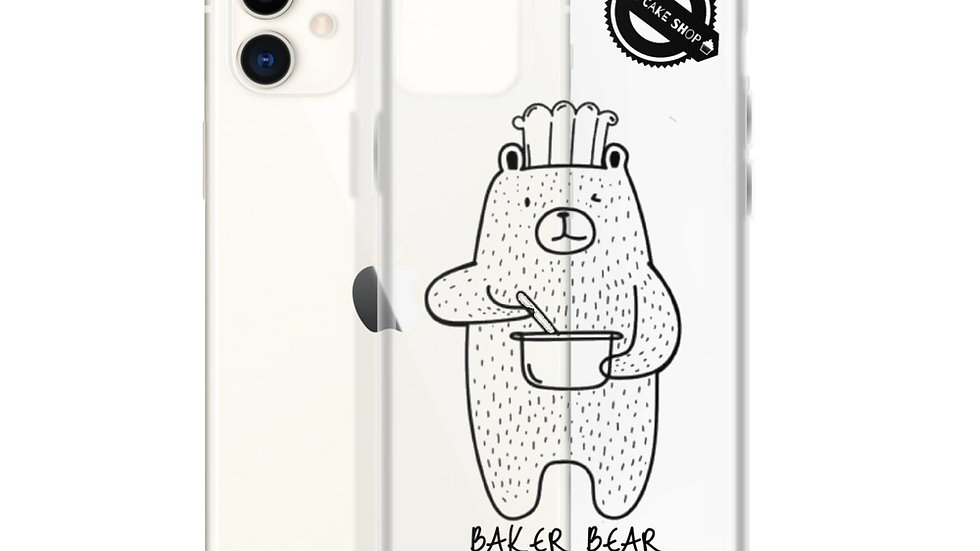 Baker Bear iPhone Case