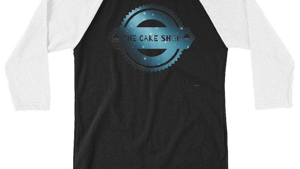 TCS Logo Galaxy 3/4 sleeve raglan shirt