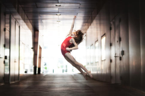 Audrie is an incredible 9-year old dancer
