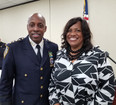Discussing Community Relations with NYPD Chief of Department Harrison