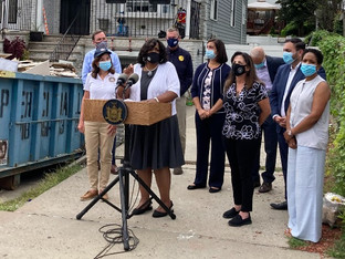 Ida Aftermath: Joining Gov. Hochul To Assess Damage, Chart Recovery