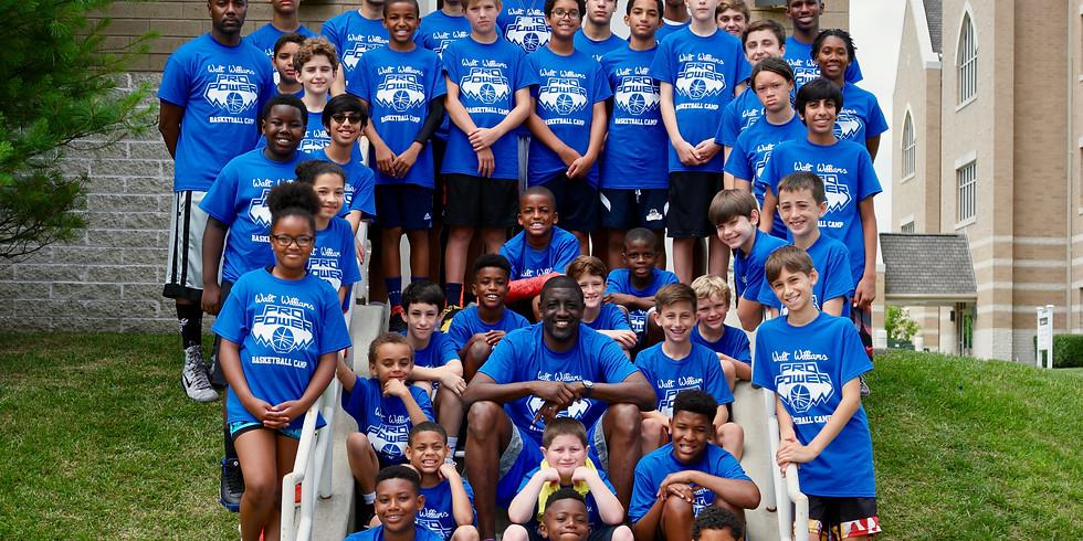 Walt Williams Pro Power Basketball Camp 2
