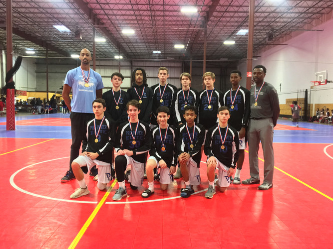 Maryland Flames Holiday Tournament Champions Elite 8th West