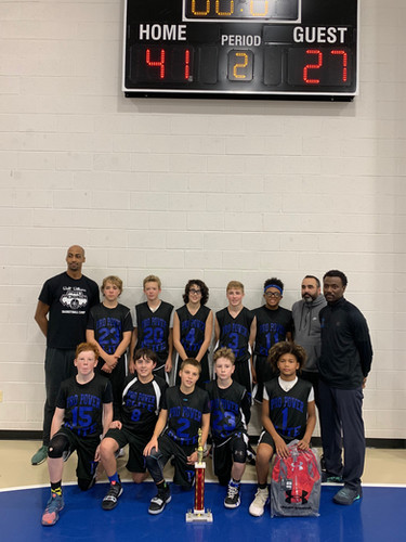 Pro Power Elite 7th West Maryland Sharks 4th Annual DMV Holiday Hoopmania Classic 12u Champs