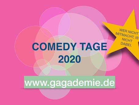 HaHaHackathon, Comedy-BarCamp und mehr: nxstnx veranstaltet die Comedy Tage 2020
