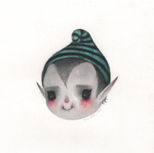 """""""Elf"""" original drawing"""