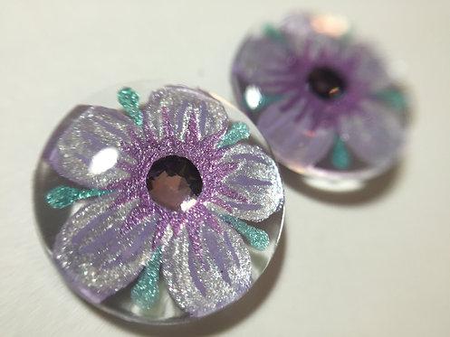 Crystal Flowers- Lavender