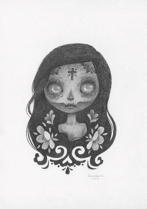 Mariana Original Drawing
