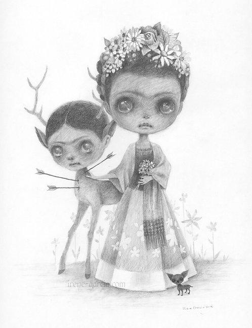 Estrellados Fine Art Print