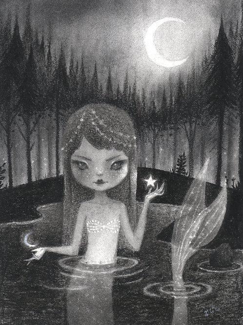 Woodland Siren Fine Art Print