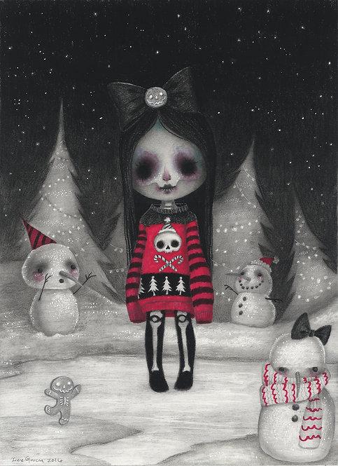 """Christmas Time"" original drawing"