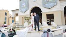 Lisa and Claudio's wedding at Portofino Bay Hotel!