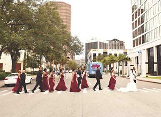 Downtown Orlando City Wedding