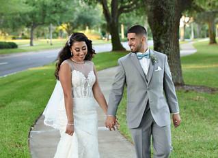 Lauren and Angel's loving wedding at Noah's Event Center!