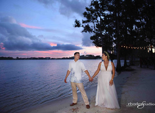 Paradise Cove beach wedding