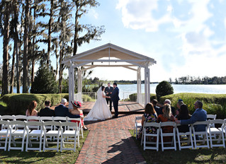 Molly and Malachy's destination wedding at Cypress Grove Estate House!