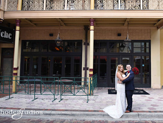 Intimate wedding at Ceviche downtown Orlando