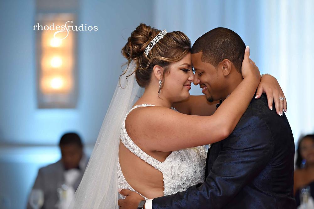 First dance at wedding at the Orlando Omni Championsgate, Orlando wedding photography