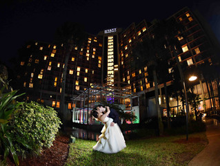 Alli and Zak's perfect wedding day at Hyatt Regency Grand Cypress!