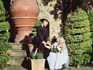 Gabrielle and Karl's loving wedding at Bella Collina