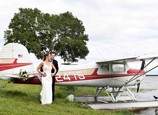 Beautiful waterside wedding at Tavares Pavilion for Sarah and Chris!
