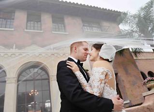 Elegant wedding at The Howey Mansion for Ben and Yvette!
