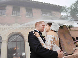 Elegant wedding at The Howey Mansion for Ben and Yvette!