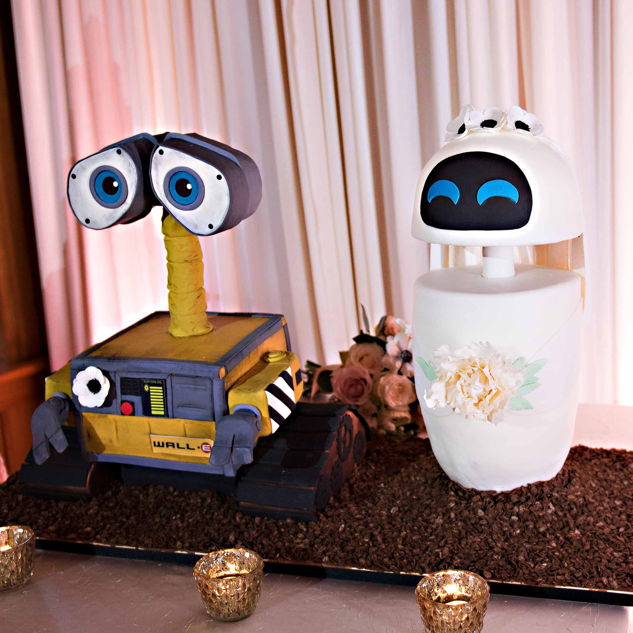 Wallie and Eve grooms cake