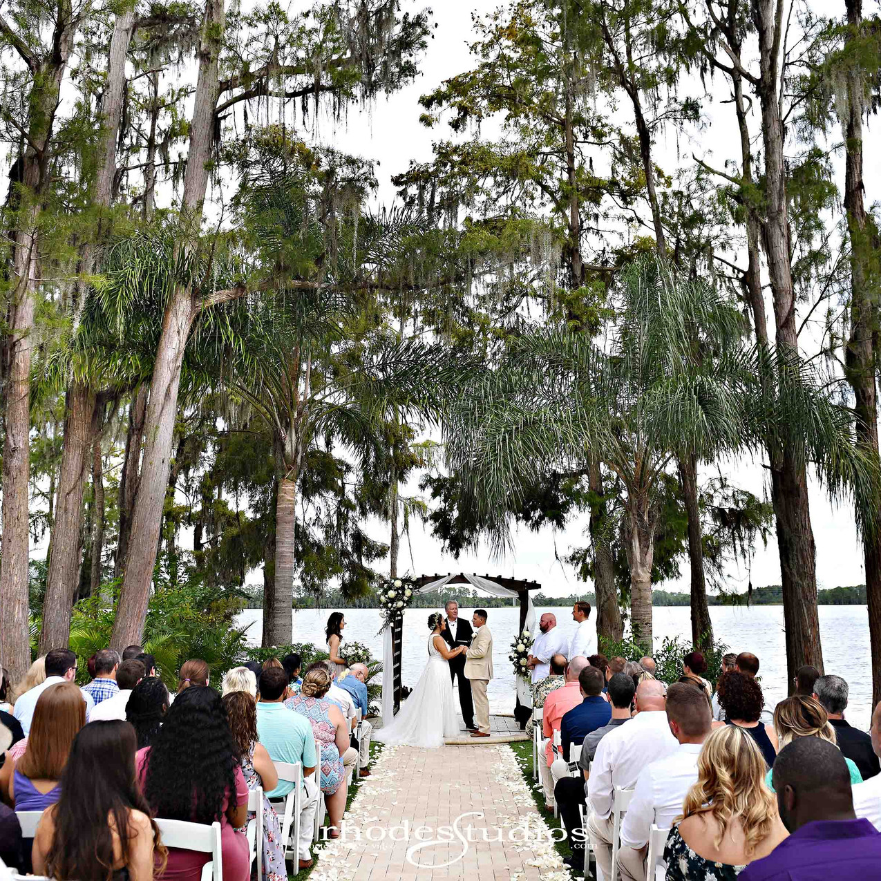 Ceremony at Paradise Cove