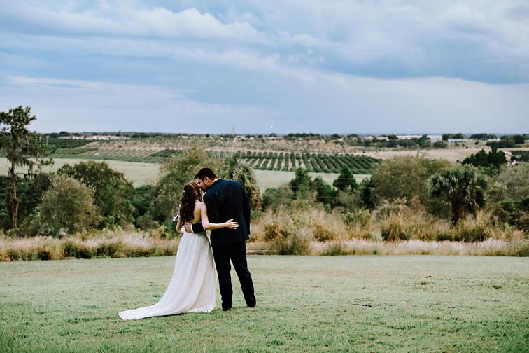 Wedding couple Bok Tower