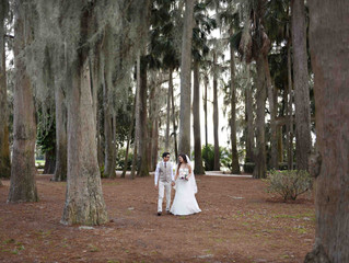Destination intimate wedding at Kraft Azalea Park!