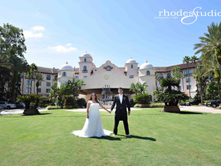 Hard Rock Hotel in Orlando wedding