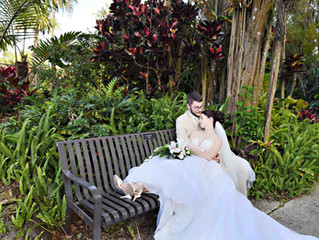 Megan and Andrew's Harry P. Leu Gardens wedding!