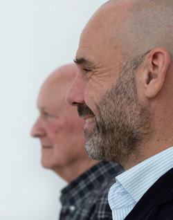 Jeroen Bartelse (voor), Peter Smids