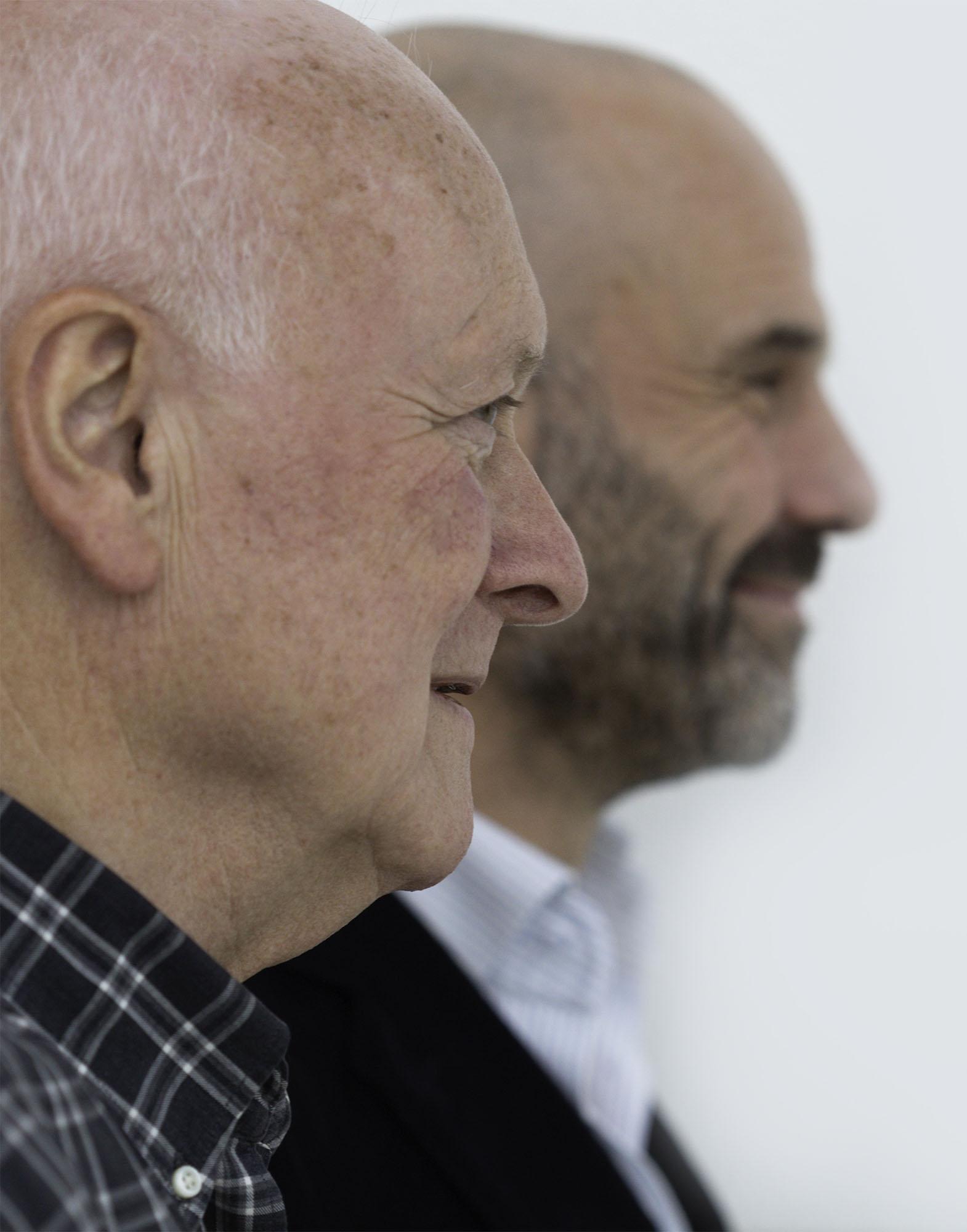 Peter Smids (voor), Jeroen Bartelse
