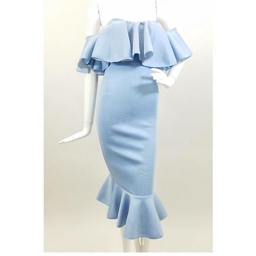 Denim Like Blue Dress