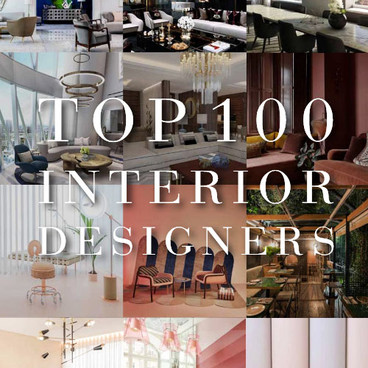 COVETED - TOP 100 INTERIOR DESIGNER