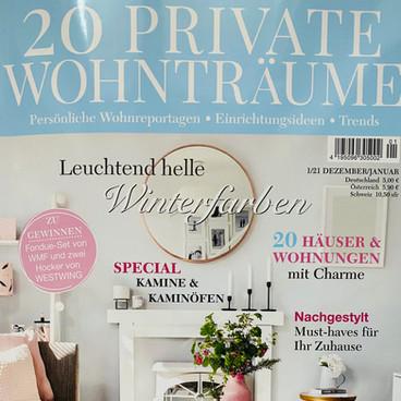 20 PRIATE WOHNTRÄUME 01/2021
